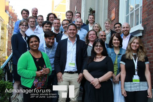 Group Photo Admanagerforum for Publishers June 2015